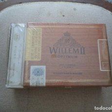 Cajas de Puros: CAJA PUROS WILLEM II LLENA .SIN USAR.. Lote 219248635