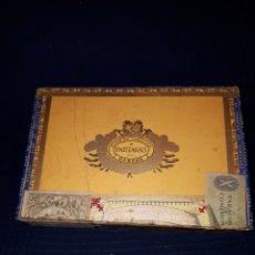 Cajas de Puros: CAJA PUROS PARTAGAS LA HABANA VACÍA 25 LONDRES EXTRA. Lote 115517360