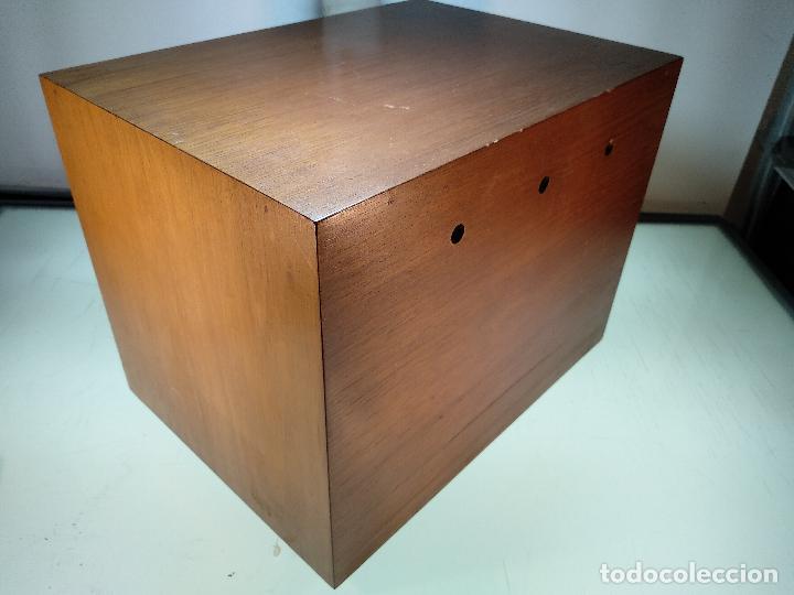 Cajas de Puros: GRAN MUEBLE O CAJA DE PUROS HABANOS - CON LLAVE - FUNCIONANDO - MADERA NOBLE - - Foto 7 - 115772835