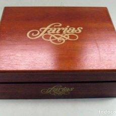 Cajas de Puros: HUMIDOR HIGROMETRO CAJA DE MADERA PUROS FARIAS: SUPERIORES, CHICOS, PURITOS, MINI.. Lote 116076871