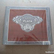 Cajas de Puros: CAJA PUROS LLENA PEÑAMIL PLATA.. Lote 116079163