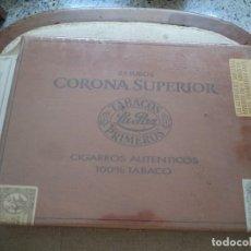 Cajas de Puros: CAJA PUROS LLENA TABACOS LA PAZ.. Lote 116080451