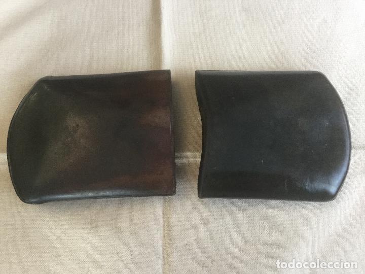 Cajas de Puros: Antigua petaca de piel para puros. - Foto 2 - 116499167