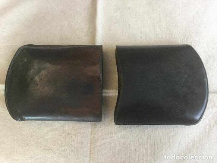 Cajas de Puros: Antigua petaca de piel para puros. - Foto 3 - 116499167