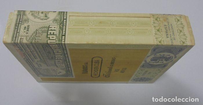 Cajas de Puros: CAJA DE PUROS. EL REY DEL MUNDO. 25 DEMI TASSE. AÑO 2000. CERRADA. PERFECTO ESTADO. VER FOTOS - Foto 3 - 116521071