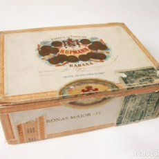 Cajas de Puros: CAJA DE PUROS DE FÁBRICA DE TABACOS DE H. UPMANN - HABANA - MADE IN HAVANA CUBA - 25 CORONAS MAJOR. Lote 117113247