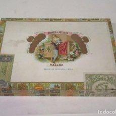 Cajas de Puros: CAJA DE PUROS ROMEO Y JULIETA. MADE IN HABANA, CUBA. VACÍA.. Lote 117392583