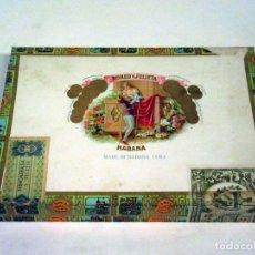 Cajas de Puros: CAJA DE PUROS ROMEO Y JULIETA. MADE IN HABANA, CUBA. VACÍA.. Lote 117392891