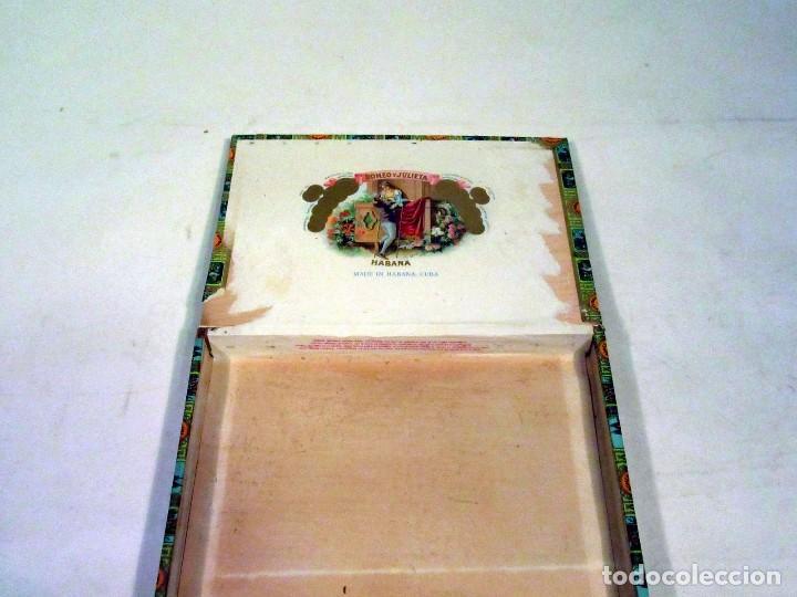 Cajas de Puros: Caja de Puros Romeo y Julieta. Made In Habana, Cuba. Vacía. - Foto 3 - 117392891
