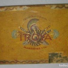 Cajas de Puros: CAJA DE PUROS HABANOS - CUBA MARCA TROYA (((VACIA) EPOCA -PRE/REVOLUCION)). Lote 117428615