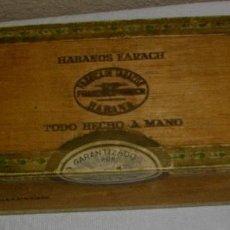 Cajas de Puros: CAJA DE PUROS HABANOS - CUBA MARCA FLOR DE FARACHS (VACIA) EPOCA -PRE/REVOLUCION. Lote 117429063