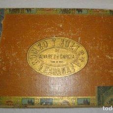 Cajas de Puros: CAJA DE PUROS HABANOS - CUBA MARCA ROMEO Y JULIETA (VACIA) EPOCA -PRE/REBOLCION. Lote 118072083