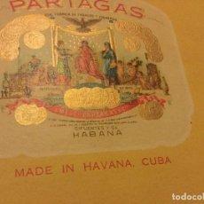 Cajas de Puros: CAJA MADERA PUROS HAVANA CUBA FLOR DE TABACOS CIFUENTES Y CIA HABANA CUBA VACIA. Lote 118503695