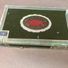 Cajas de Puros: LA FLOR DE CANO, CAJA DE PUROS VACÍA. J. CANO, LA HABANA.. Lote 118563280