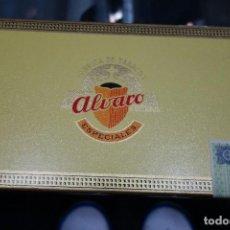 Cajas de Puros: CAJA DE PUROS MARCA ALVARO. Lote 118842715
