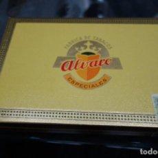 Cajas de Puros: CAJA DE PUROS MARCA ALVARO. Lote 118842823