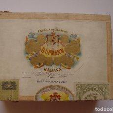 Cajas de Puros: ANTIGUA CAJA MADERA PUROS H. UPMANN (CUBA) CON SELLOS. ORIGINAL ¡COLECCIONISTA!. Lote 119964575