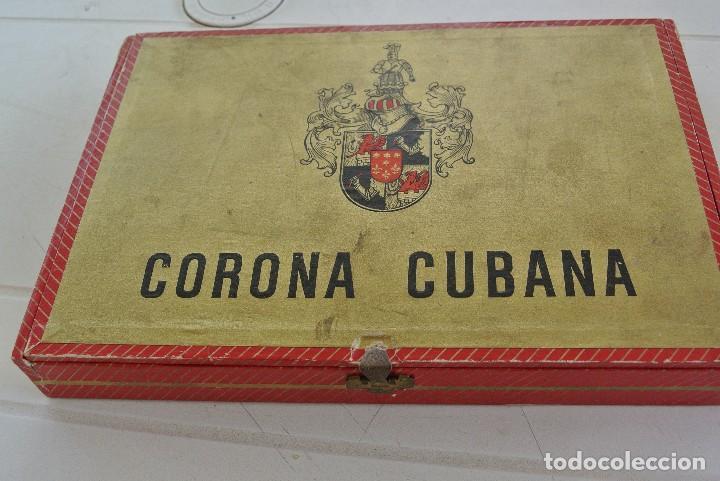 Cajas de Puros: CAJA VACIA DE PUROS CORONA CUBANA - Foto 2 - 120130447