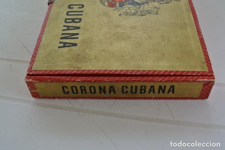 Cajas de Puros: CAJA VACIA DE PUROS CORONA CUBANA - Foto 3 - 120130447