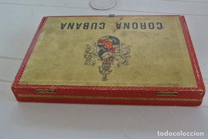 Cajas de Puros: CAJA VACIA DE PUROS CORONA CUBANA - Foto 4 - 120130447