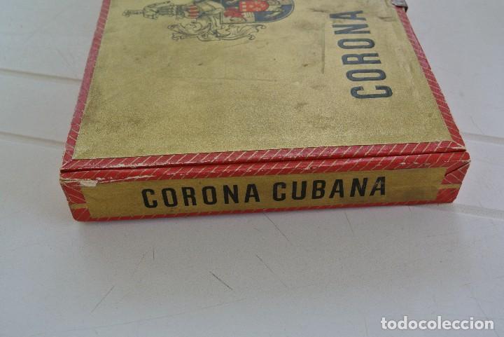 Cajas de Puros: CAJA VACIA DE PUROS CORONA CUBANA - Foto 5 - 120130447