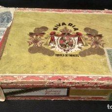 Cajas de Puros: NIVARIA. Lote 120568435