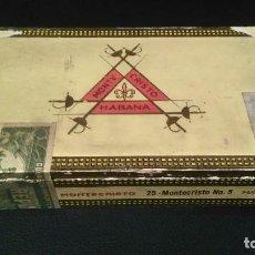 Cajas de Puros: MONTECRISTO. Lote 120569419