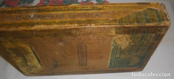 Cajas de Puros: CAJA DE PUROS HABANOS GABINO CAMPOS ( VACIA- COLCC) EPOCA - PRE/ REBOLC - Foto 5 - 120834743
