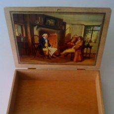 Cajas de Puros: HEDIGER SANDBLATT CAJA DE PUROS 20 - HABANA. Lote 121297599