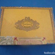 Cajas de Puros: CAJA VACIA PUROS HABANOS PARTAGAS 25 CULEBRAS. Lote 122109195