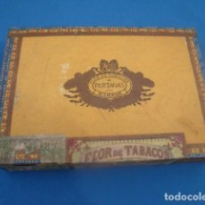 Cajas de Puros: CAJA VACIA PUROS HABANOS PARTAGAS 25 CULEBRAS. Lote 122109775