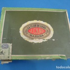 Cajas de Puros: CAJA VACIA PUROS HABANOS LA FLOR DE CANO 25 SELECTOS. Lote 122110023