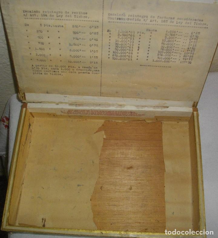 Cajas de Puros: ANTIGUA CAJA DE PUROS VACIA , MARIA GUERRERO,(( ÉPOCA PRE REVOLUCIÓN, CUBA)) - Foto 3 - 122248523