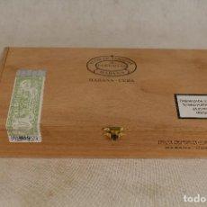 Cajas de Puros: CAJA DE PUROS PARTAGAS - LA HABANA - CUBA. Lote 123304267