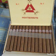 Cajas de Puros: CAJA PUROS COMPLETA MONTECRISTO Nº4--CUBA. Lote 124443091