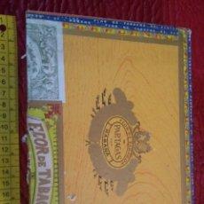 Cajas de Puros: CAJA DE PUROS PARTAGAS. Lote 124551163