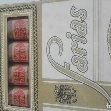 Cajas de Puros: ANTIGUO PAQUETE CAJA DE FARIAS EXTRA 4 FARIAS. Lote 124614631