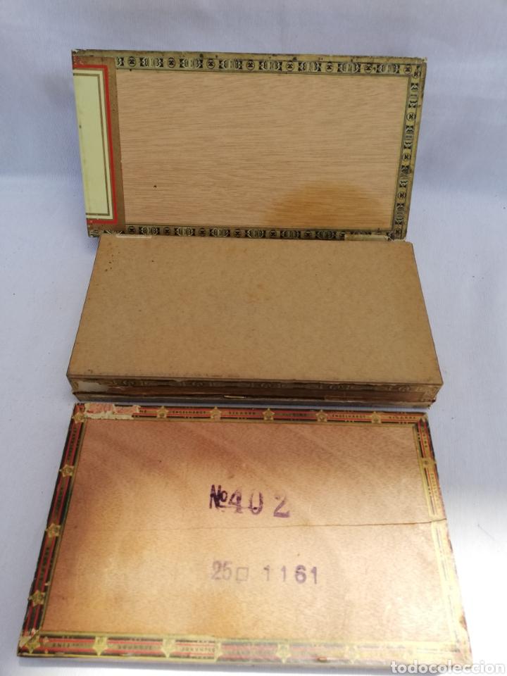 Cajas de Puros: LOTE 3 CAJAS PUROS. ALEMANIA. VACÍAS. - Foto 6 - 126349444