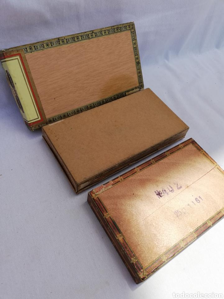 Cajas de Puros: LOTE 3 CAJAS PUROS. ALEMANIA. VACÍAS. - Foto 5 - 126349444
