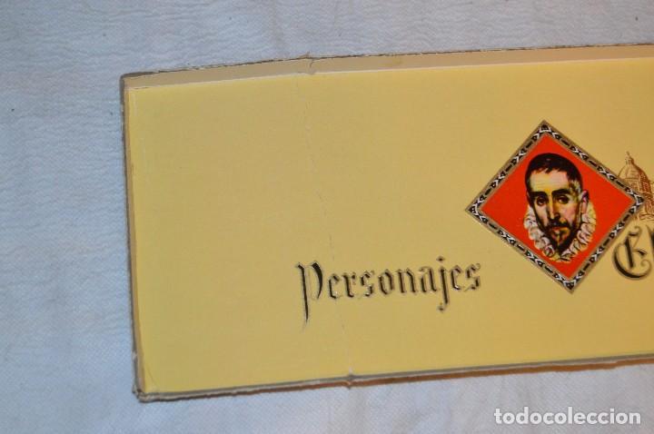 Cajas de Puros: VINTAGE - CAJA DE PUROS - PERSONAJES EL GRECO - ABIERTA - CON 23 PUROS - DE COLECCIÓN - ENVÍO 24H - Foto 15 - 126905751