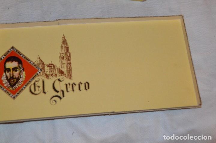 Cajas de Puros: VINTAGE - CAJA DE PUROS - PERSONAJES EL GRECO - ABIERTA - CON 23 PUROS - DE COLECCIÓN - ENVÍO 24H - Foto 16 - 126905751