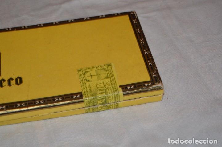 Cajas de Puros: VINTAGE - CAJA DE PUROS - PERSONAJES EL GRECO - ABIERTA - CON 23 PUROS - DE COLECCIÓN - ENVÍO 24H - Foto 20 - 126905751