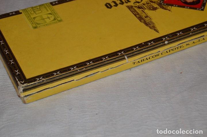 Cajas de Puros: VINTAGE - CAJA DE PUROS - PERSONAJES EL GRECO - ABIERTA - CON 23 PUROS - DE COLECCIÓN - ENVÍO 24H - Foto 22 - 126905751