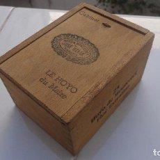 Cajas de Puros: CAJA DE TABACOS.PUROS.LE HOYO DU MAIRE.25 HOYO DE MONTERREY.JOSE GENER.HABANA CUBA.. Lote 128173519