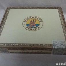Cajas de Puros: CAJA DE PUROS DE MADERA VACIA PEÑAMIL - 25 PEÑAMIL N° 25 . Lote 128234651