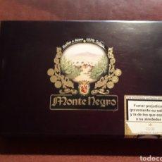 Cajas de Puros: CAJA PUROS MONTE NEGRO CON 7 UNIDADES EDICION ESPECIAL PRECINTADAS (RECUERDO DE BODA). Lote 128719958