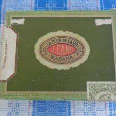 Cajas de Puros: CAJA PUROS FLOR DE CANO CON 12 PUROS ( 7 FLOR DE CANO - 1 PARTAGAS - 1 DAVIDOFF - 3 MONTECRISTO ). Lote 128931975