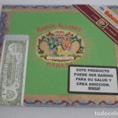 Cajas de Puros: CAJA DE PUROS VACÍA - RAMON ALLONES - ALLONES SUPERIORES - HABANOS. Lote 130621986