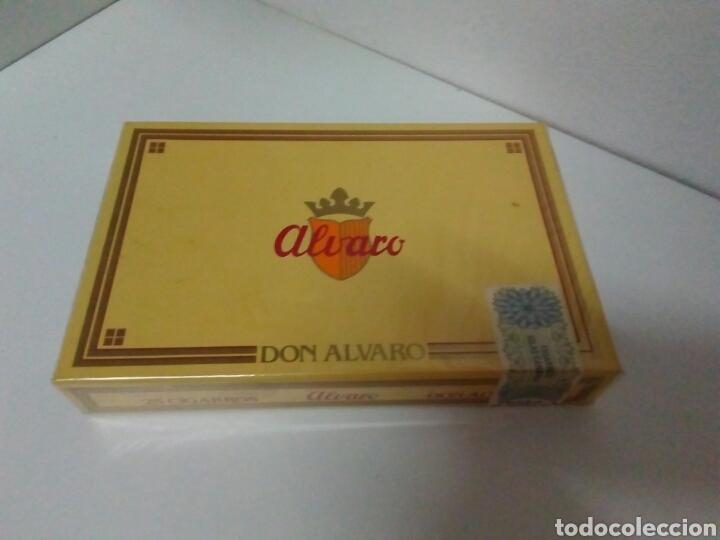 CAJA DE PUROS SIN ABRIR DON ALVARO (Coleccionismo - Objetos para Fumar - Cajas de Puros)
