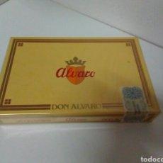 Cajas de Puros: CAJA DE PUROS SIN ABRIR DON ALVARO. Lote 130642442